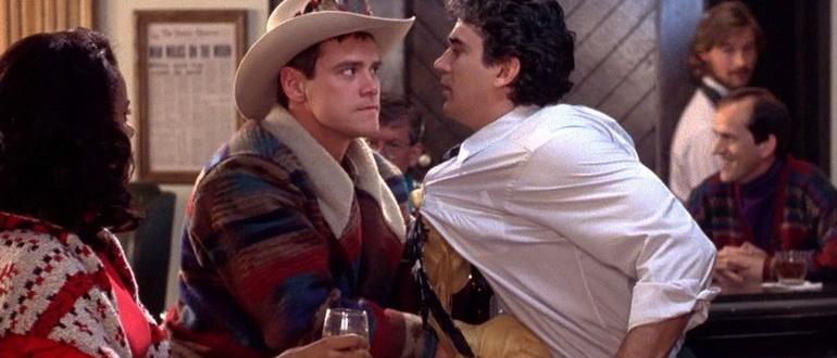 кадр из фильма Тупой и еще тупее (1994)