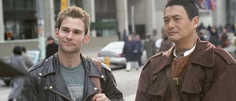 кадр из фильма Пуленепробиваемый монах (2003)