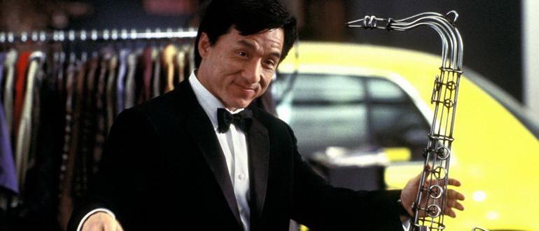 сцена из фильма Смокинг (2002)