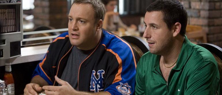 персонажи из фильма Чак и Ларри: Пожарная свадьба (2007)