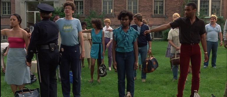 сцена из фильма Полицейская академия (1984)