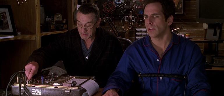 сцена из фильма Знакомство с родителями (2001)