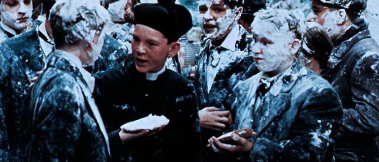 сцена из фильма Багси Мэлоун (1976)