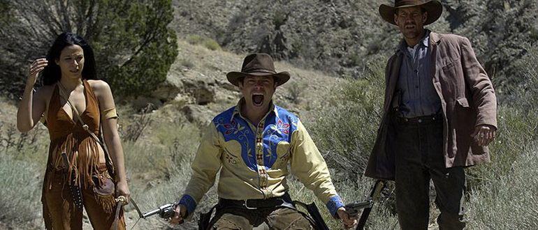 сцена из фильма Зомби на Диком Западе (2007)
