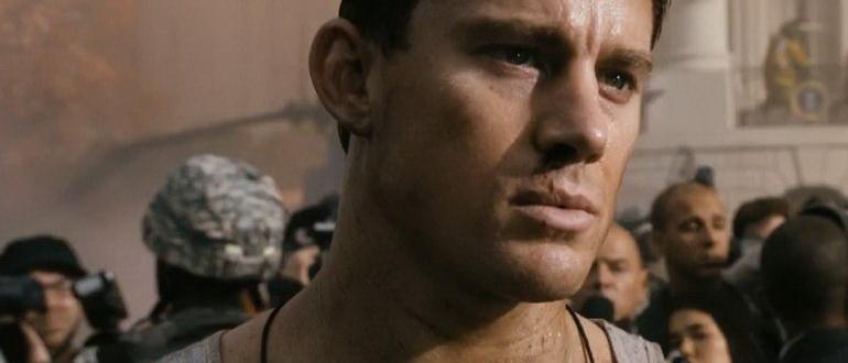 кадр из фильма Штурм Белого дома (2013)