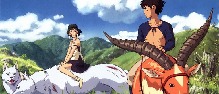 аниме Принцесса Мононоке (1997)