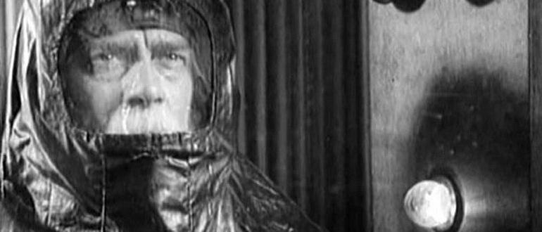 кадр из фильма Космический рейс (1935)