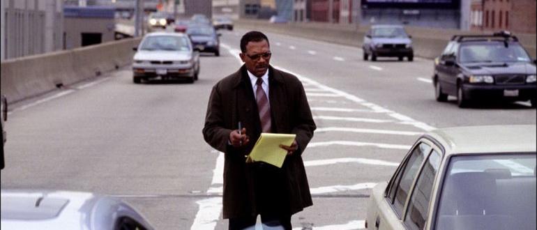 сцена из фильма В чужом ряду (2002)
