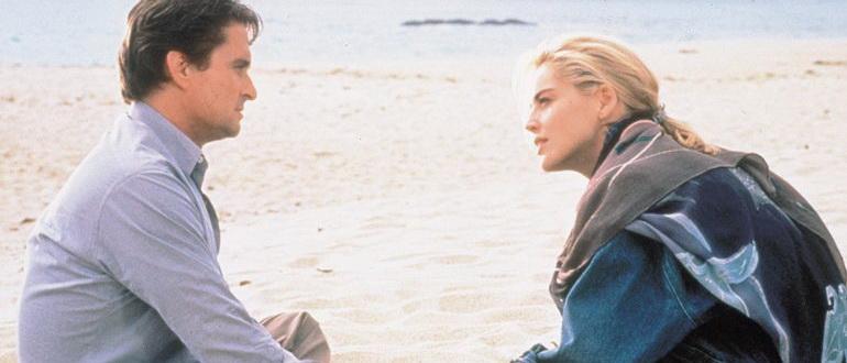 кадр из фильма Основной инстинкт (1992)