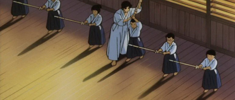 кадр из мультфильма Синдзюку - Город-ад (1988)