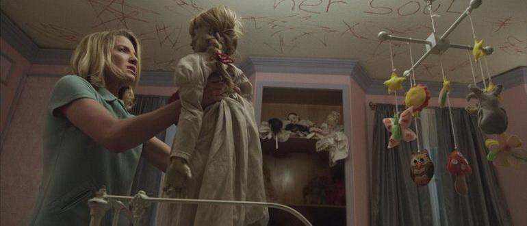 сцена из фильма Проклятие Аннабель (2014)