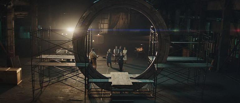 кадр из сериала Звездные врата: Начало (2018)