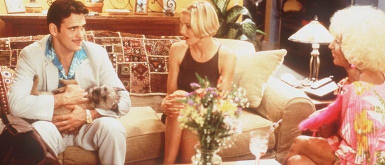 кадр из фильма Все без ума от Мэри (1998)