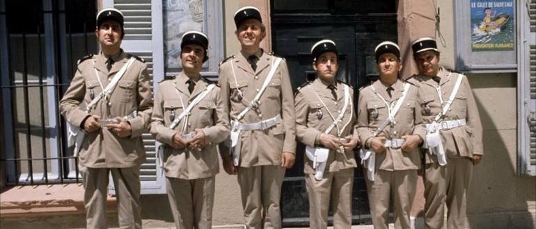 персонажи из фильма Жандарм из Сен-Тропе (1964)