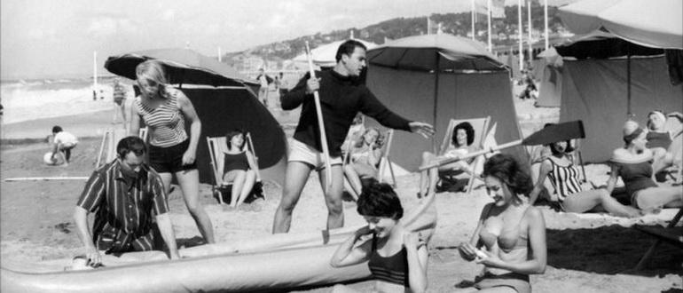 персонажи из фильма Мы поедем в Довиль (1962)