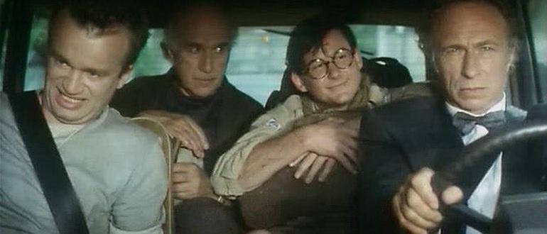 герои из фильма Психи на воле (1993)