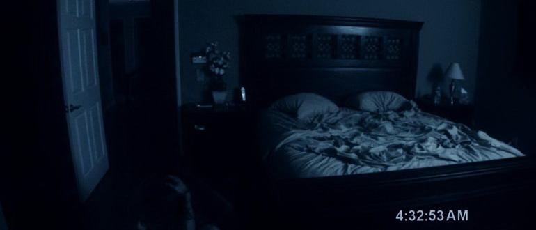 кадр из фильма Паранормальное явление (2009)