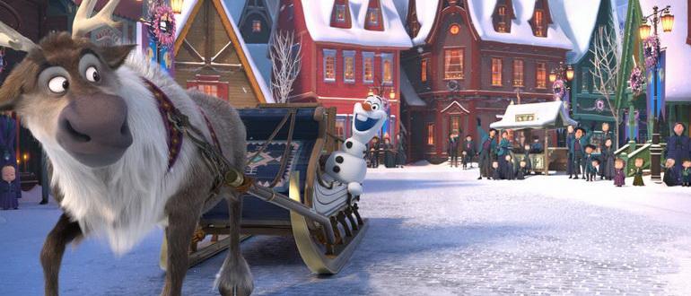 кадр из фильма Олаф и холодное приключение (2017)