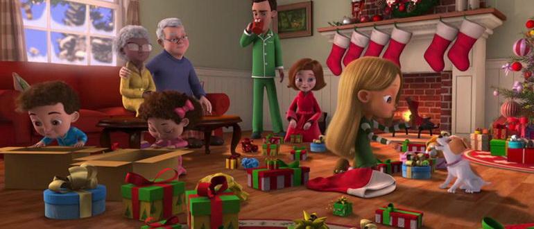 сцена из фильма Все, что я хочу на Рождество — это ты (2017)