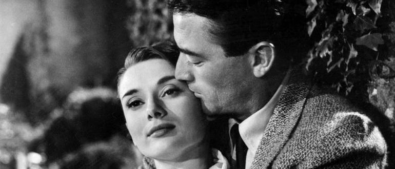 кадр из фильма Римские каникулы (1953)