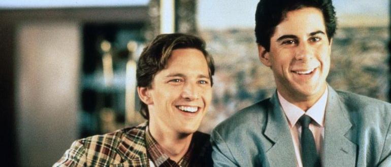 сцена из фильма Уик-Энд у Берни (1989)