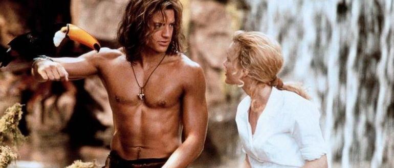 сцена из фильма Джордж из джунглей (1997)