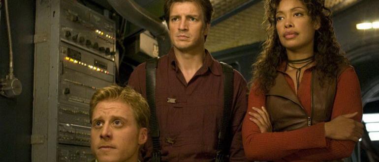 кадр из сериала Светлячок (2002)
