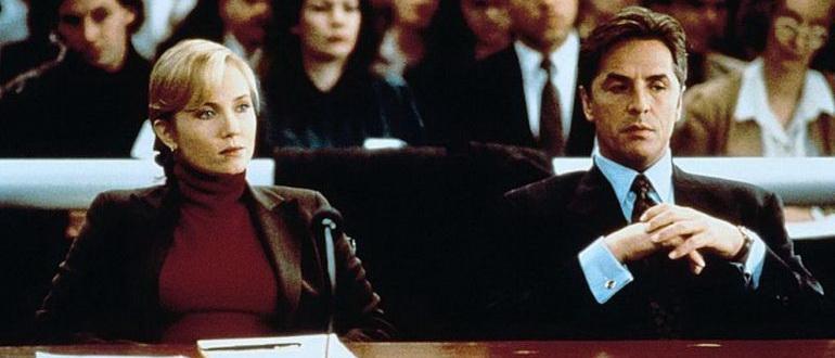 сцена из фильма Виновен вне подозрений (1993)