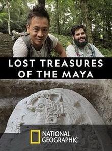 плакат к фильму National Geographic: Затерянные сокровища майя (2019)