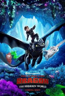 плакат к фильму Как приручить дракона 3 (2019)