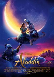 плакат к фильму Аладдин (2019)