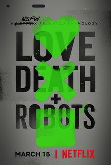 постер к мультику Любовь, смерть и роботы (2019)