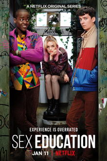 плакат к сериалу Половое воспитание (2019)