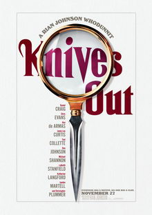 афиша к фильму Ножи наголо (2019)