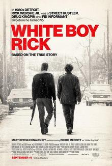 афиша к фильму Белый парень Рик (2019)