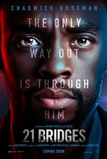 постер к фильму 21 мост (2019)