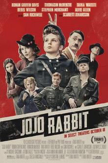 плакат к фильму Кролик Джоджо (2019)