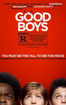 афиша к фильму Хорошие мальчики (2019)