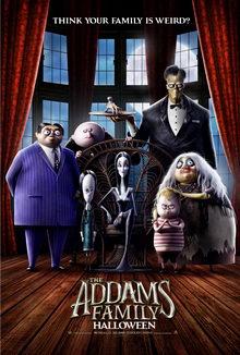 плакат к фильму Семейка Адамс (2020)