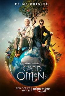 плакат к сериалу Благие знамения (2019)